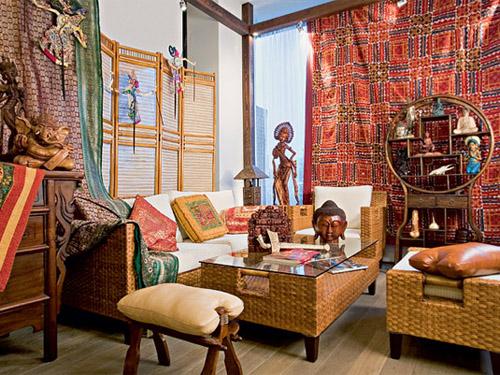 Марокканский стиль дизайна интерьера, Аксессуары в