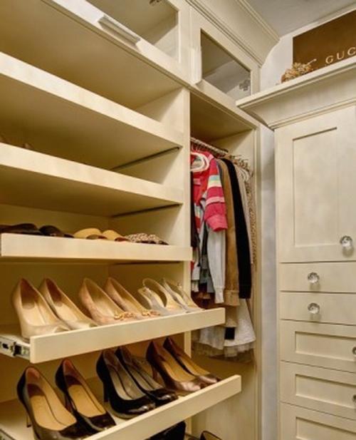 Компактное хранение обуви своими руками