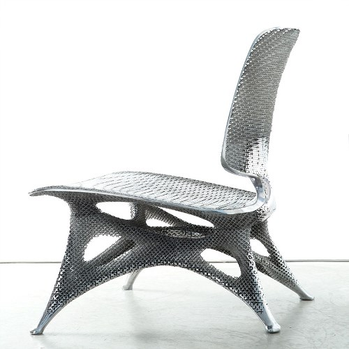 Аluminum chair 1