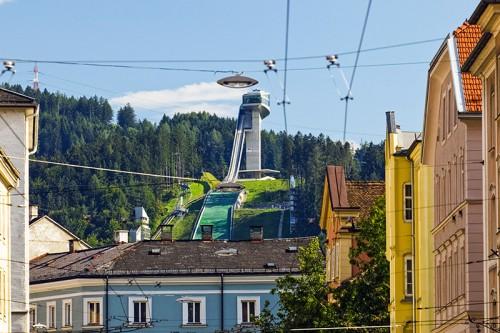 Ski jump / Innsbruck