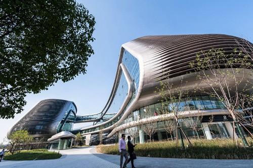 new landmark in Shanghai