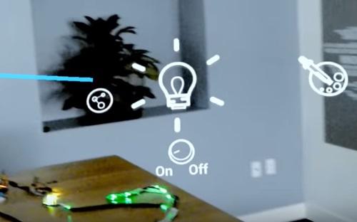 Экспериментальное приложение IoT x MR