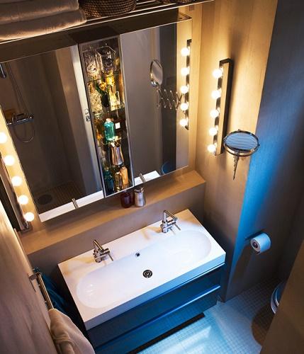 Зеркало в ванной комнате 3