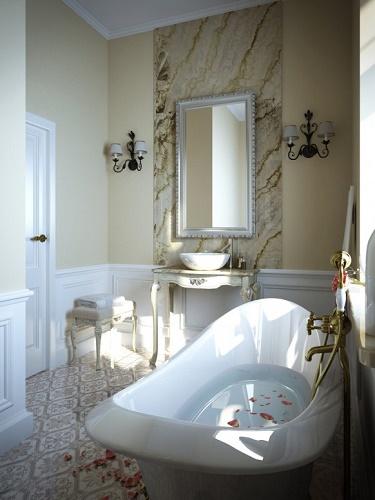 Зеркало в ванной комнате 4