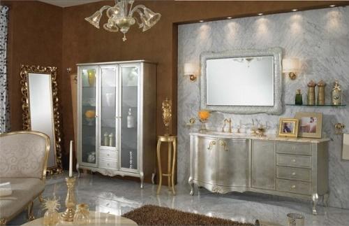 Зеркало в ванной комнате 5