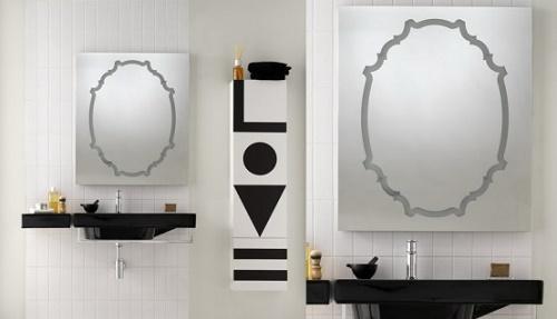 Зеркало в ванной комнате 7
