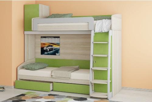 Двухъярусная кровать 4