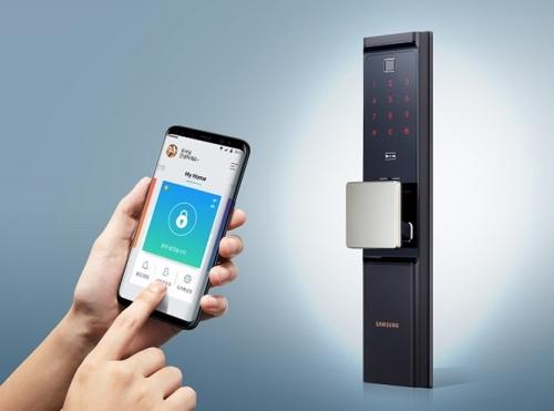 Samsung представил Wi-Fi «смарт» замок 1